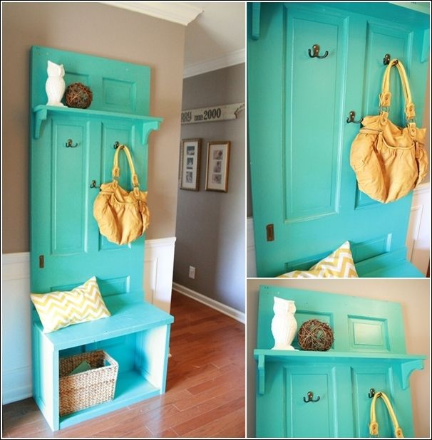 30 Fun Ideas On How To Recycle Doors Homesthetics 27