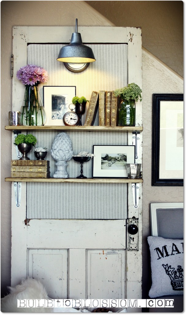 30 Fun Ideas On How To Recycle Old Doors-homesthetics.net (32)