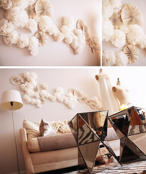 30 Insanely Beautiful Examples of DIY Wall Paper Art That Will Enhance Your Decor homesthetics decor (28)