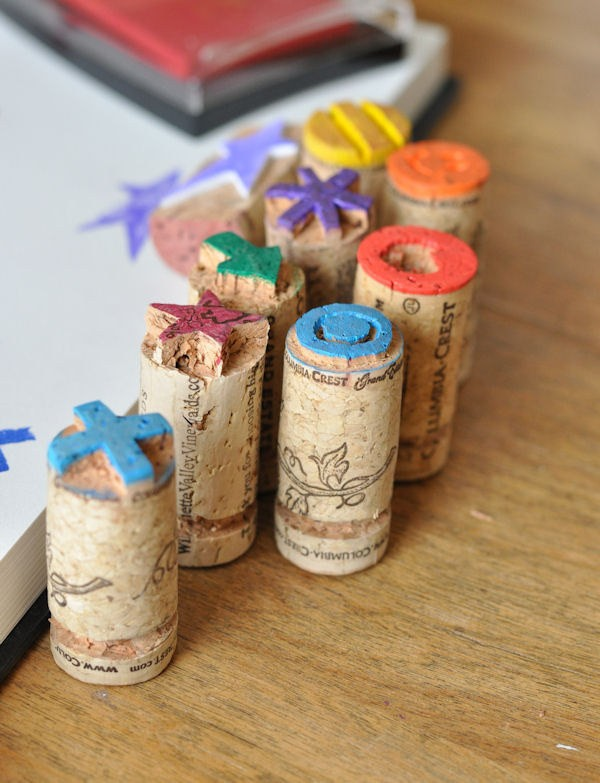 #23 - CORK SMALL STAMPS