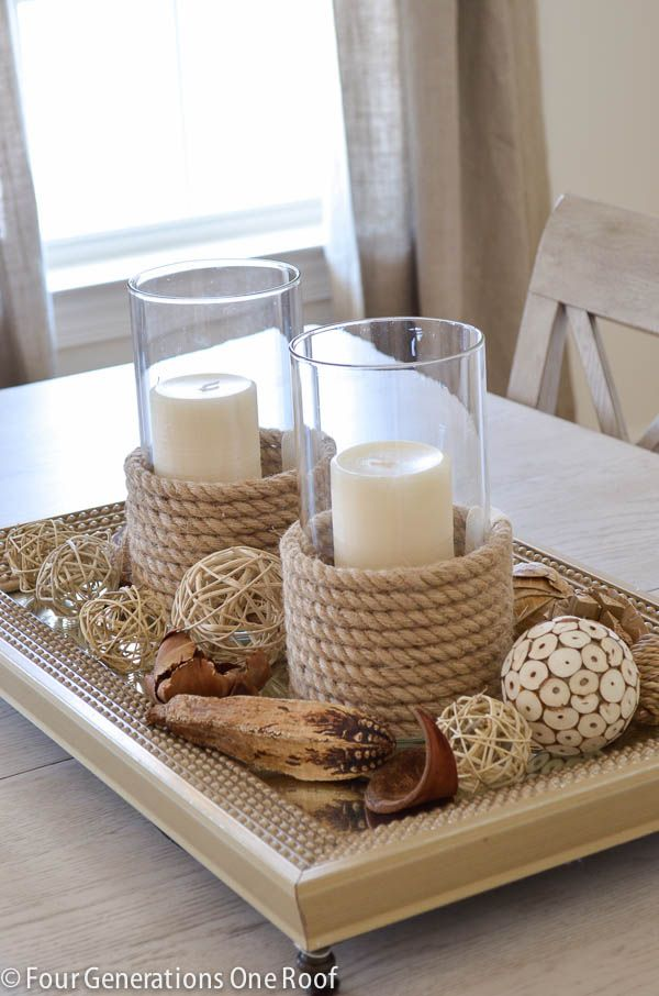 30 Rope projects and Decorating Ideas For A Nautical Theme_homestheics (1)