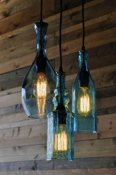 Elegant 32 Insanely Beautiful Upcycling Projects For Your Home  Recycled Glass  Bottle Projects Homesthetics Decor ( Awesome Design