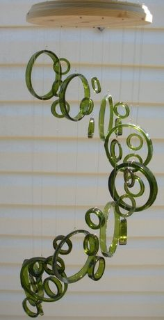 32 Insanely Beautiful Upcycling Projects For Your Home -Recycled Glass Bottle