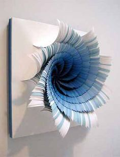 33 Creative 3D Wall Art Projects Meant to Beautify Your Space Through Color Texture and Volume homesthetics  (10)
