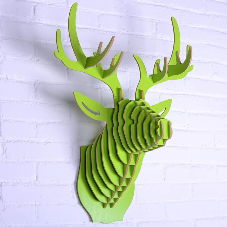 33 Creative 3D Wall Art Projects Meant to Beautify Your Space Through Color Texture and Volume homesthetics  (17)