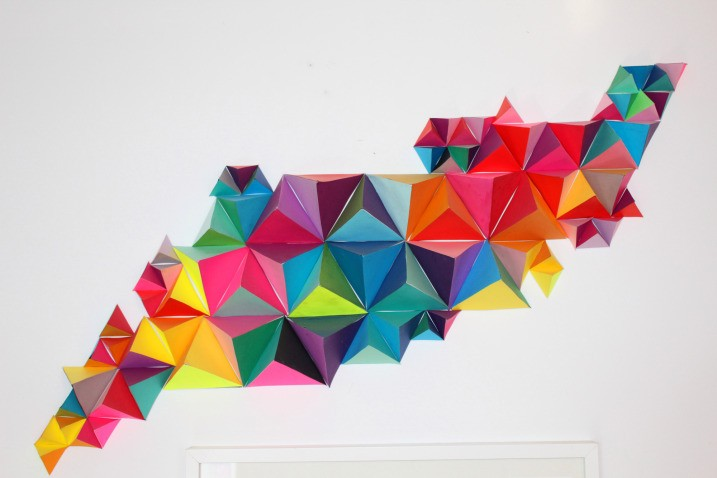 33 Creative 3D Wall Art Crafts Meant to Beautify Your Space Through Color Texture and Volume homesthetics  (2)