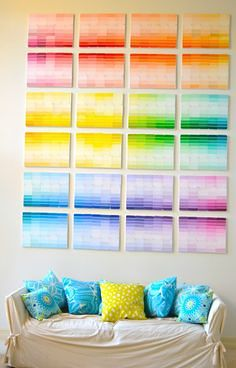 33 Creative 3D Wall Art Projects Meant to Beautify Your Space Through Color Texture and Volume homesthetics  (6)