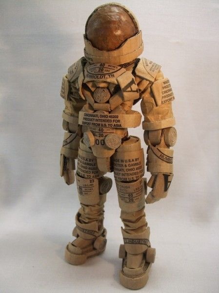 35 clever and creative diy cork crafts that will enhance your decor insanely creative diy cork craft toy storm trooper solutioingenieria Image collections