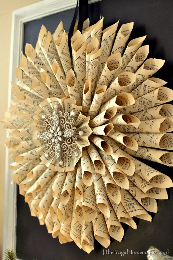 35 Sensible Vintage Like Diy Book Paper Decoration Projects For Your