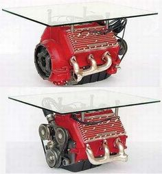 42 Simply Brilliants Ideas of How to Recycle Old Car Parts Into Furnishing  homesthetics (26)