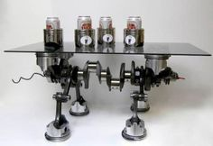 42 Simply Brilliants Ideas of Old Car Parts Are Recycled Into Furnishing  homesthetics (42)