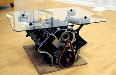 42 Simply Brilliants Ideas of How to Recycle Old Car Parts Into Furnishing  homesthetics (6)