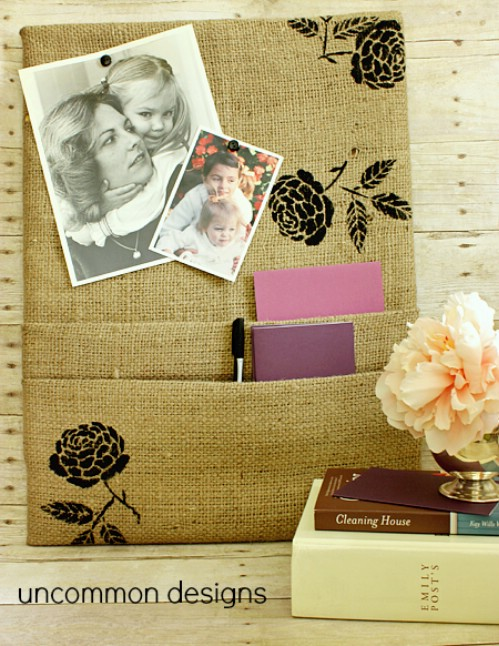 60 Burlap DIY Projects That Will Add Coziness and Health to Your Shelter homesthetics decor (26)