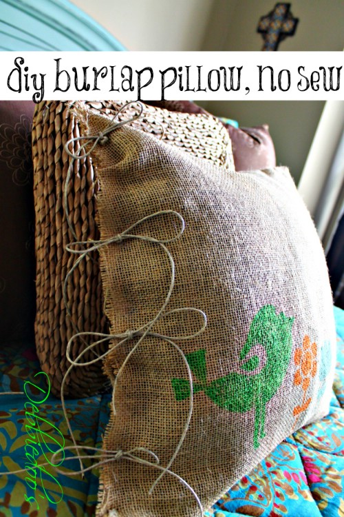60 Burlap DIY Projects That Will Add Coziness and Health to Your Shelter homesthetics decor (36)