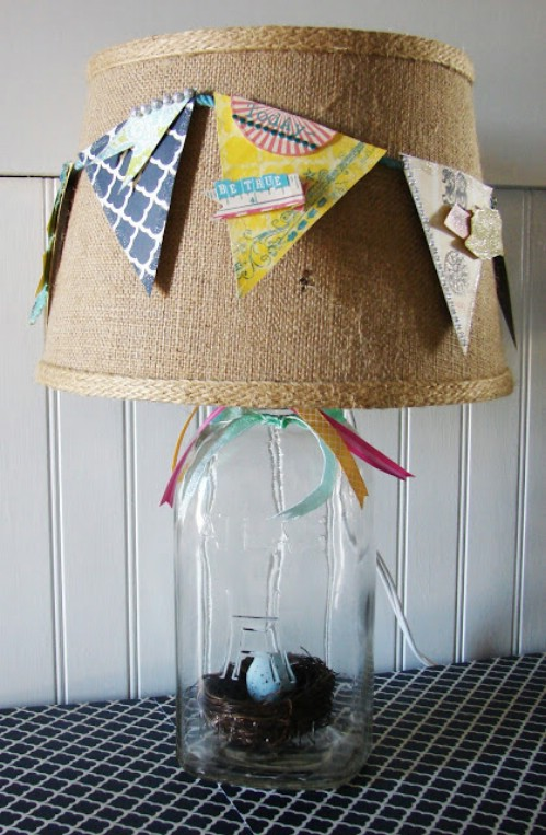 60 Burlap DIY Projects That Will Add Coziness and Health to Your Shelter homesthetics decor (38)