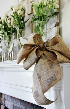 60 Burlap DIY Projects That Will Add Coziness and Health to Your Shelter homesthetics decor (56)