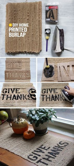 60 Burlap DIY Projects That Will Add Coziness and Health to Your Shelter homesthetics decor (6)