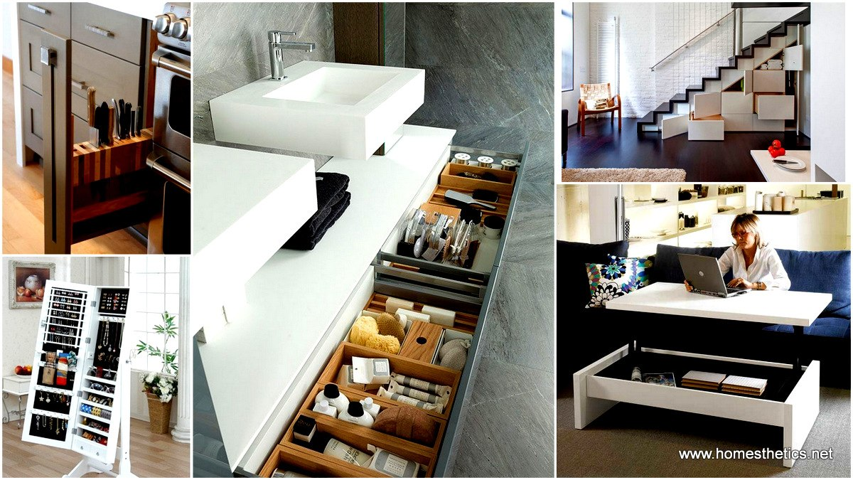 Clever storage ideas for small spaces - Clever Storage Ideas For Small Spaces 0