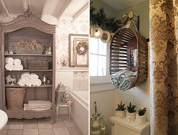 Add Glamour With Small Vintage Bathroom Ideas