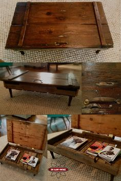 Beautiful DIY Reclaimed Coffee Tables For The Recycle Maniac-homesthetics (29)