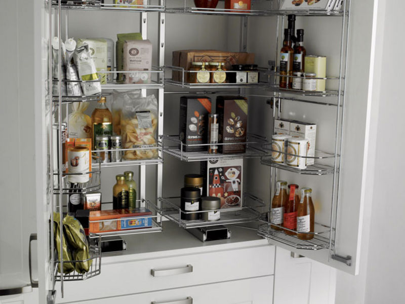 How to add extra storage space to your small kitchen for Tiny apartment kitchen solutions
