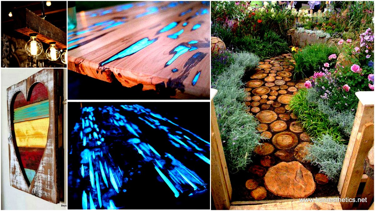 Creative ways of recycling old wood for Recycling furniture decorating ideas