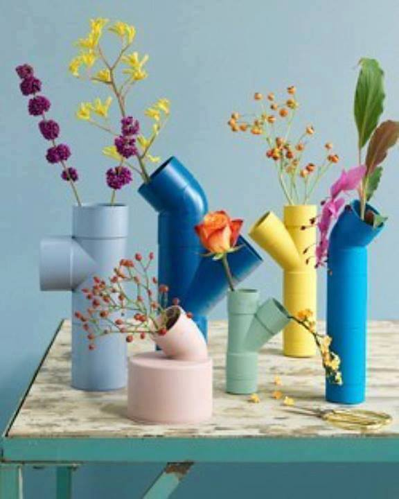 Creative and Useful PVC Crafts  For Your Home (5)