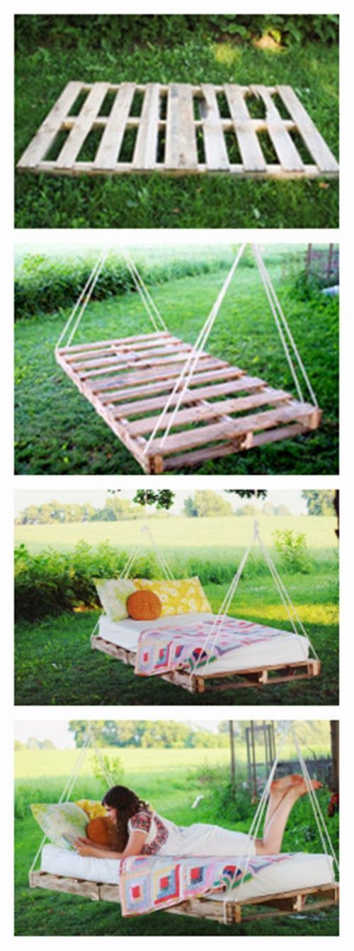 Creatively Recycling Ideas-Top 20 DIY Pallet Beds -homesthetics (14)