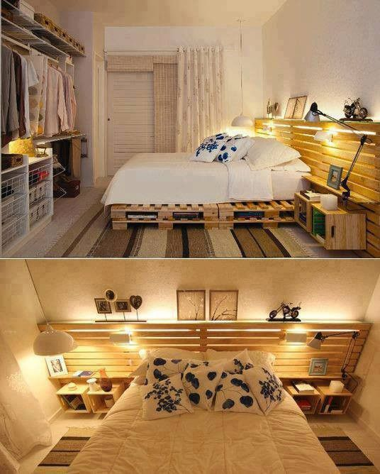Creatively Recycling Ideas-Top 20 DIY Pallet Beds -homesthetics (2)