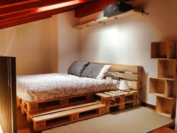 Creatively Recycling Ideas-Top 20 Pallet Beds -homesthetics (20)