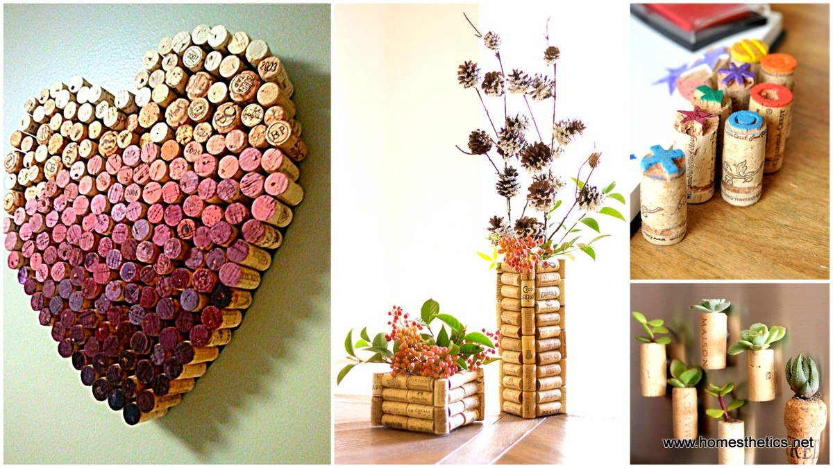 30 insanely creative diy cork recycling projects you should try - Creative digital art ideas for your home ...