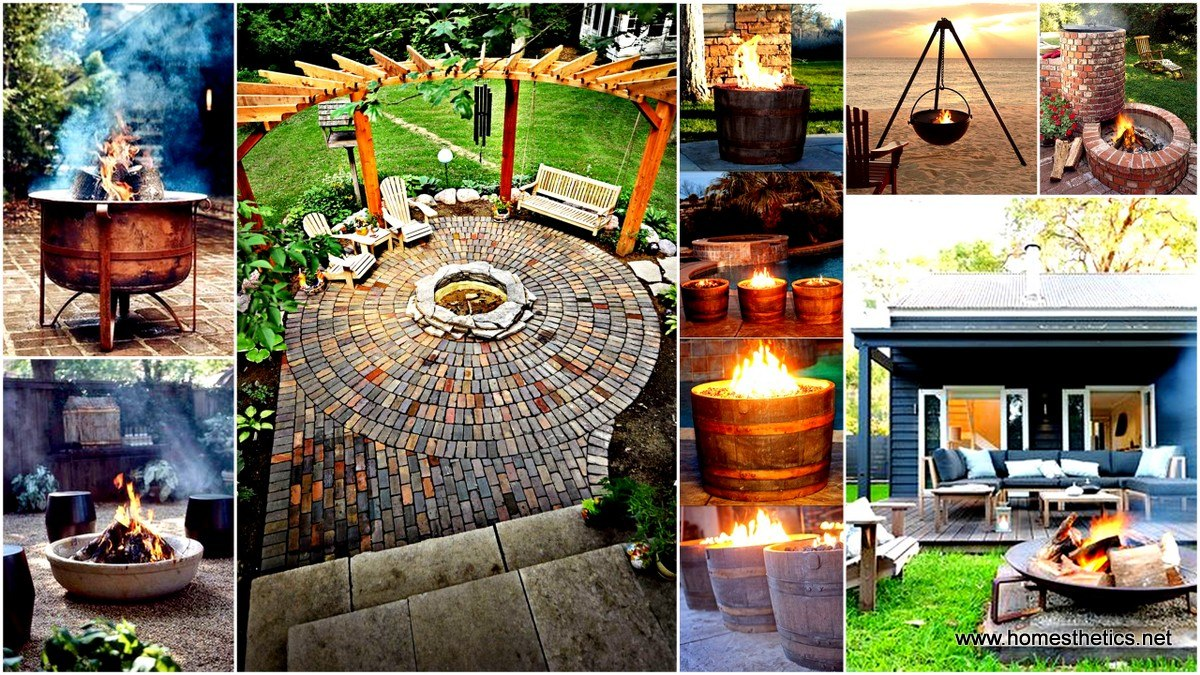 Backyard Landscaping With Fire Pit 35 smart diy fire pit projects - backyard landscaping design