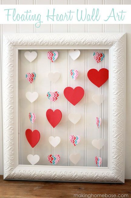 Find Inspiration With Valentine's Crafts, Wall Art And Gift Ideas-homesthetics.net (11)