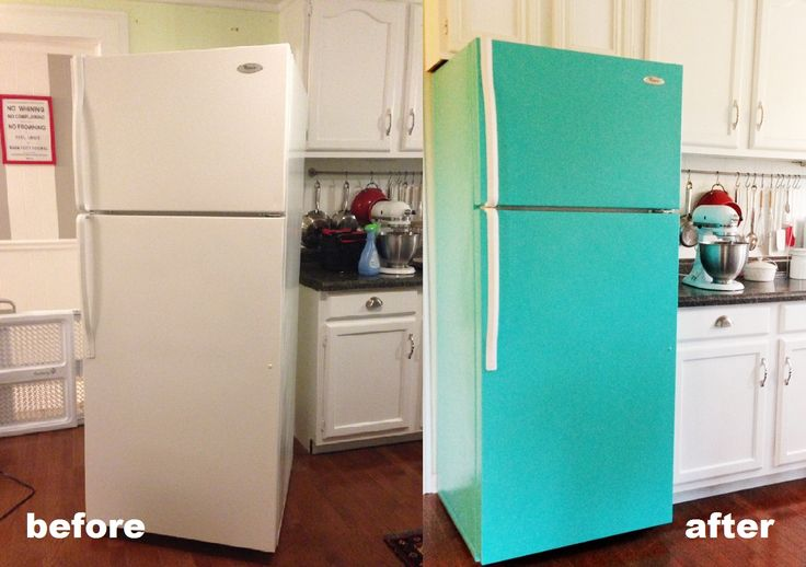 21.PAINT YOUR FRIDGE
