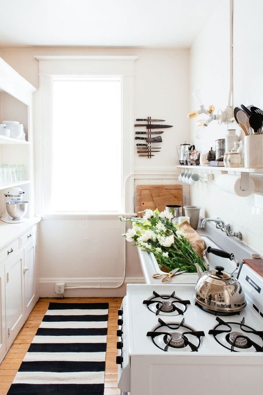 Wonderful Extra Small Kitchen Ideas Part - 4: How To Add Extra Storage Space To Your Small Kitchen-homesthetics.net (1