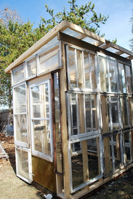 How to Use Old Windows In Your Garden and Yard homesthetics decor (10)