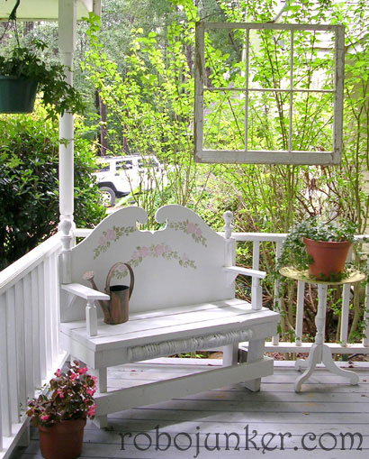 How to Use Old Windows In Your Garden and Yard homesthetics decor (8)