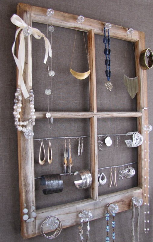 Old Window Ideas Part - 49: Ideas For Using Old Windows That Have No Glass Homesthetics Decor (19)