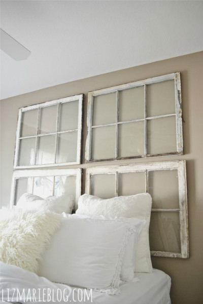 Ideas for Using Salvaged Windows With Wooden Sashed Panels homesthetics decor (10)