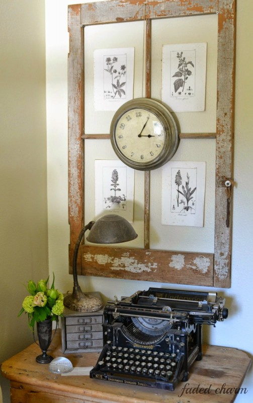Ideas for Using Salvaged Windows With Wooden Sashed Panels homesthetics decor (7)
