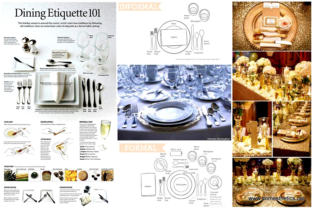 Learn these fine dining etiquette tips and feed your for Table etiquette
