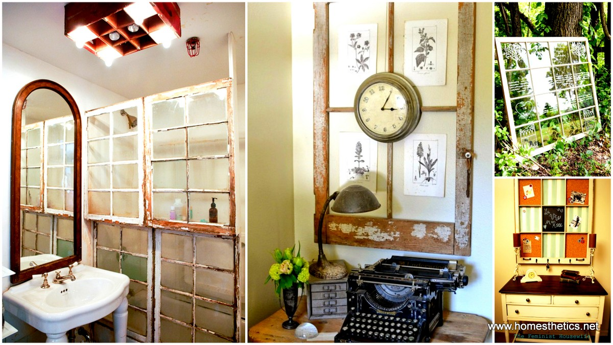 100 simple and spectacular ideas on how to recycle old for Where to recycle old windows
