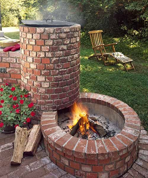 35 Smart DIY Fire Pit Projects - Backyard Landscaping Design on Diy Outdoor Fire id=38669