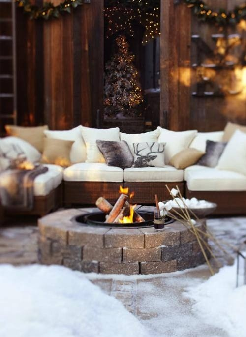 Plan Your Backyard Landscaping Design Ahead With These 35 Smart DIY Fire Pit Projects homesthetics backyard designs (17)
