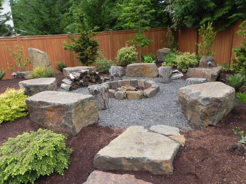 Plan Your Backyard Landscaping Design Ahead With These 35 Smart DIY Fire Pit Projects homesthetics backyard designs (25)