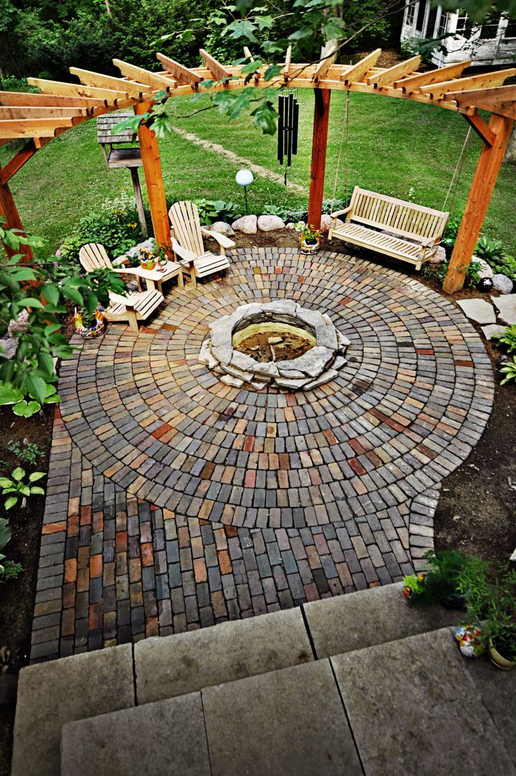 Plan Your Backyard Landscaping Design Ahead With These 35 Smart DIY Fire  Pit Projects Homesthetics Backyard