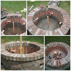 Plan Your Backyard Landscaping Design Ahead With These 35 Smart DIY Fire Pit Projects homesthetics backyard designs (6)