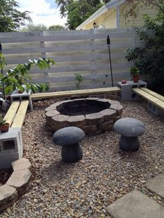 Plan Your Backyard Landscaping Design Ahead With These 35 Smart DIY Fire Pit Projects homesthetics backyard designs (8)