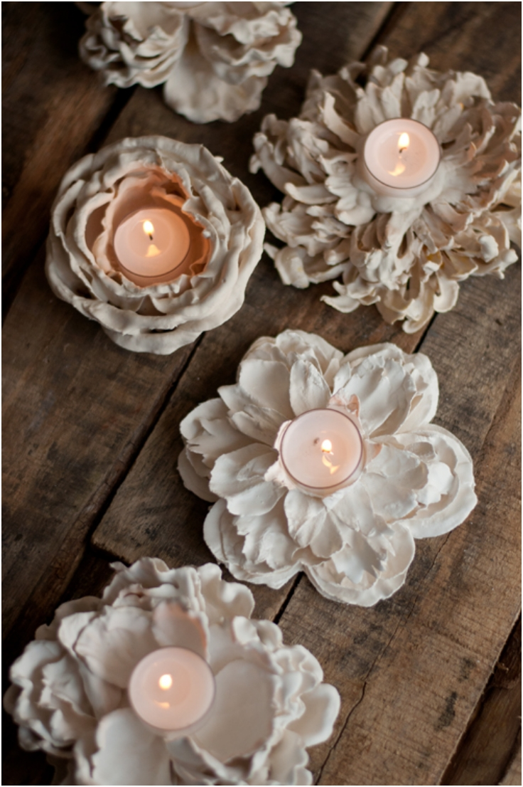 Ideas de candelabros DIY