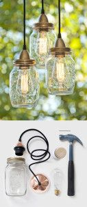 Recycle Old Items Into DIY Budget Lighting Projects That Will Make Your Home Shine homesthetics  (5)